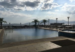 Best Western Plus Pool with beach view