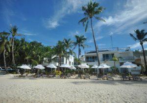 Boracay Ocean Club Beach Area