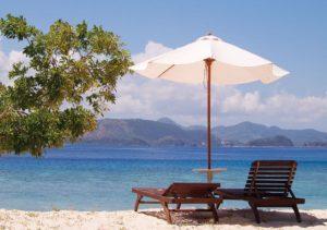 Club Paradise Beach area