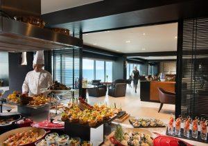 Conrad Manila Executive Lounge