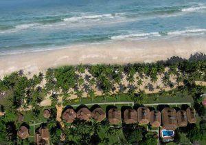 Daluyon Resorts Palawan Beach Aerial view