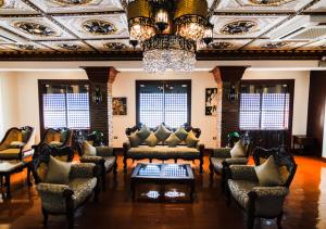 Hotel Luna Annex Vigan Lounge area