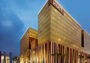 Hyatt city of dreams facade