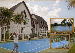 Java Hotel Laoag Tennis Area