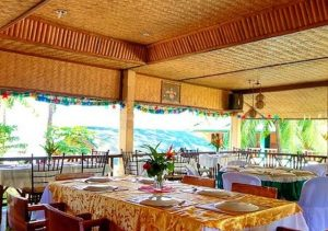 Lally & Abet dining area