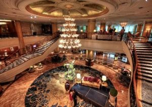 Makati Shangrila Lobby