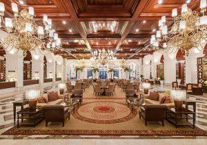 Manila Hotel lounge area