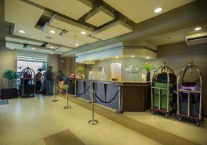 Microtel Mall of Asia Reception area