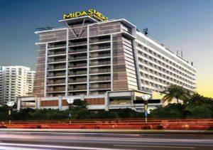 Midas Hotel Facade