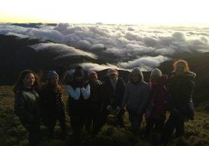 Mt Pulag clouds