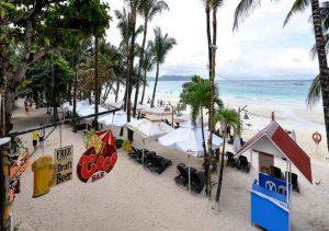 Red Coconut Boracay Bar area