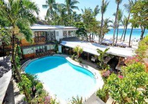 Red Coconut Boracay pool Facade