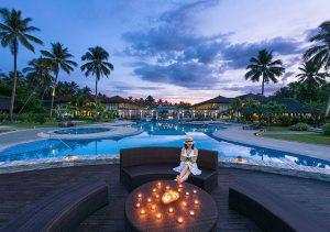 Sheridan Beach Resort Palawan Infinity Pool Lounge