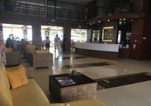 Subic Grand Harbour Hotel Front desk