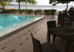 Subic Grand Harbour Hotel Pool beach view