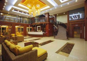 Subic Grand Harbour Hotel Stairs