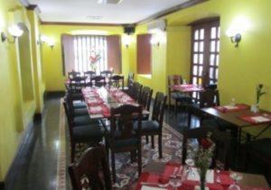 Vigan Plaza Hotel Dining area