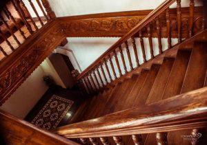 Vigan Plaza Hotel Stairs