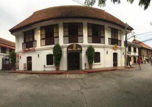 Vigan Plaza Hotel facade