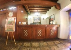 Vigan Plaza Hotel reception