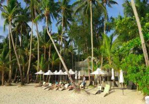 Villa Caemilla Boutique Boracay beach front chair