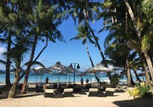Villa Caemilla Boutique Boracay dining beach area