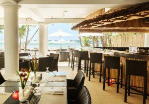 Villa Caemilla Boutique Boracay dining beach view