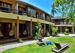 Villa Caemilla Boutique Boracay grounds
