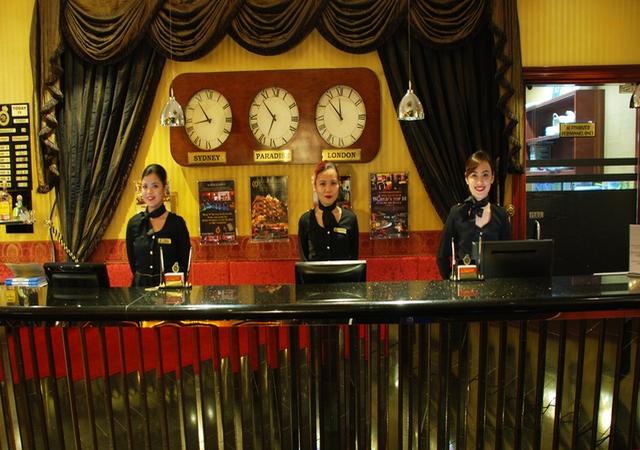 ABC Hotel Angeles Front Desk