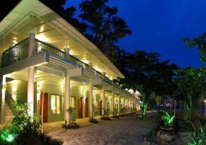 Camayan Beach Resort Facade