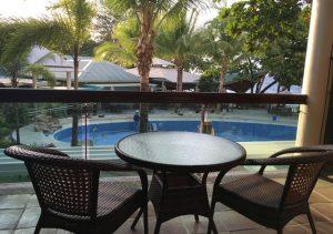 Camayan Beach Resort Veranda