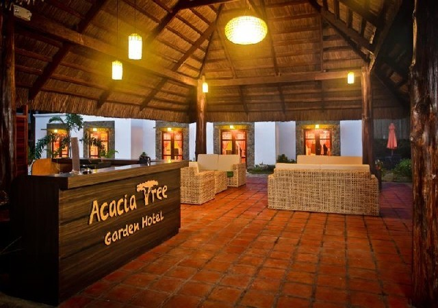 Acacia Tree Graden Hotel Palawan Reception Area