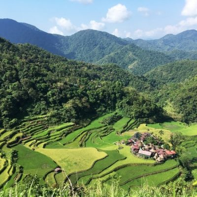 Bangaan Tribe Village under the rice terraces