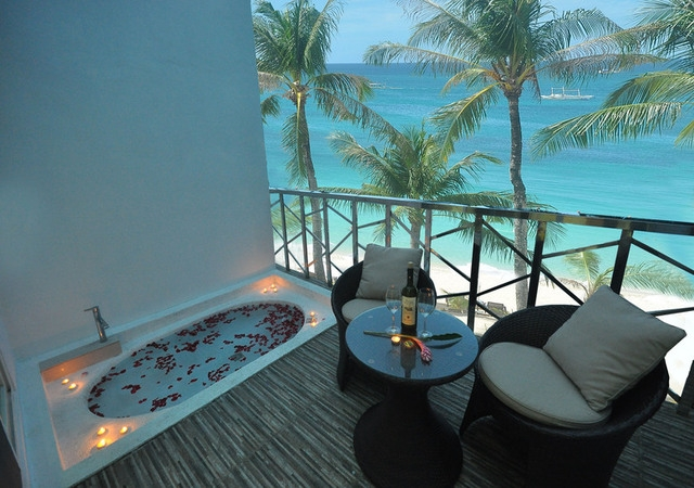 Boracay Ocean Club Diamond Suite Veranda