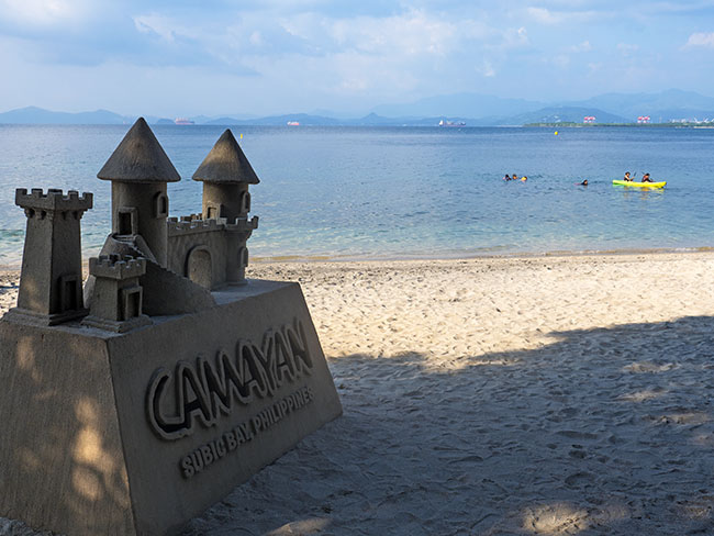 Beach Area Camayan Subic Philippines