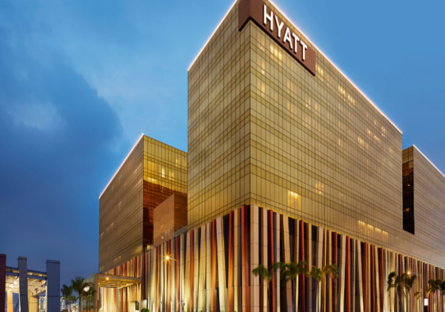 Hyatt city of dreams facade