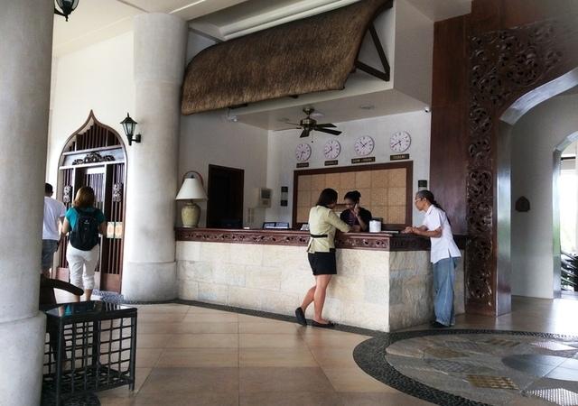 Java Hotel Reception