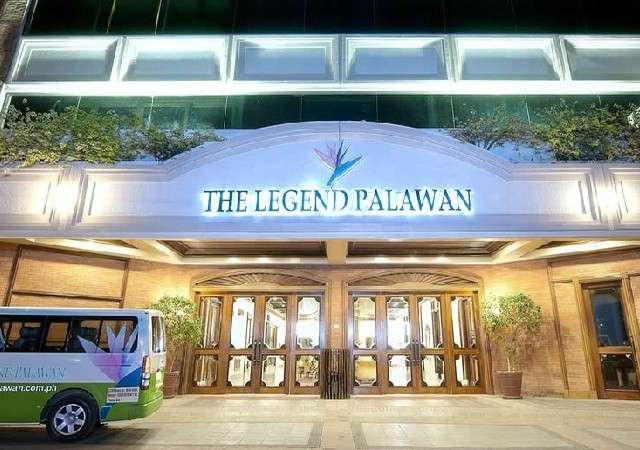 Legend Hotel Palawan Entrance