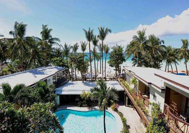 Red Coconut Boracay Hotel Facade