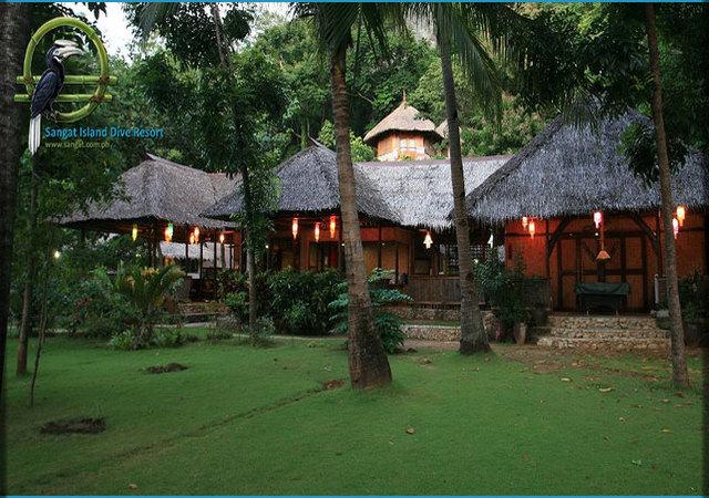 Sangat Island Restaurant Entrance