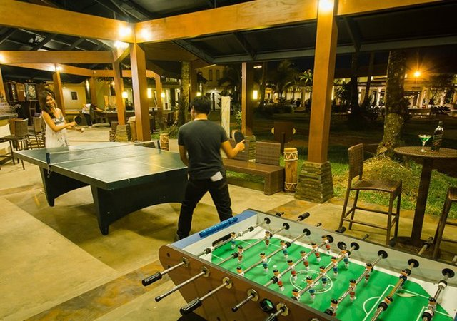 Sheridan Beach Resort Palawan Game Room