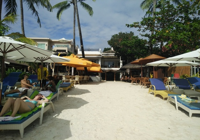 Sur Beach Boracay Umbrella shed