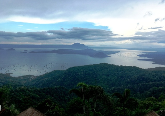 Taal lake - South of Manila Philippines