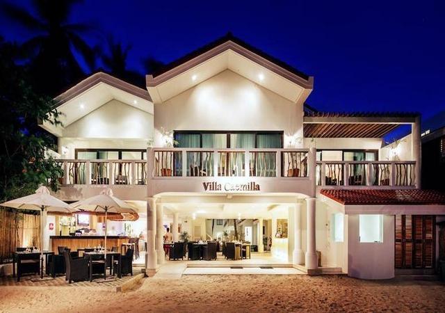 Villa Caemilla Boutique Boracay FAcade