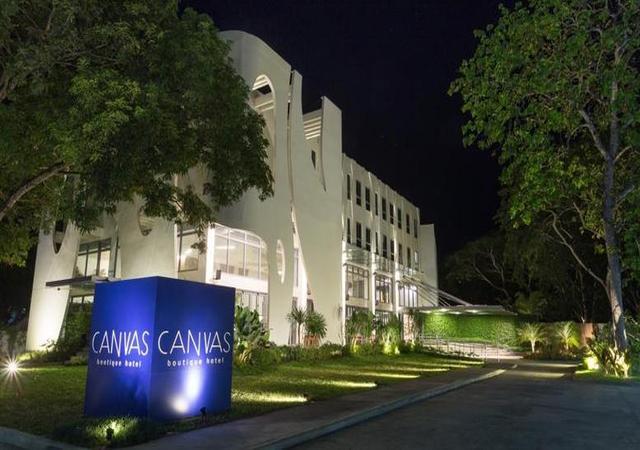 canvas hotel palawan facade