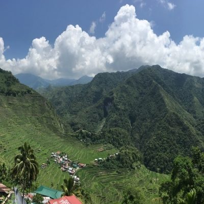 Bangaan Hills view of Batad Tribe Village