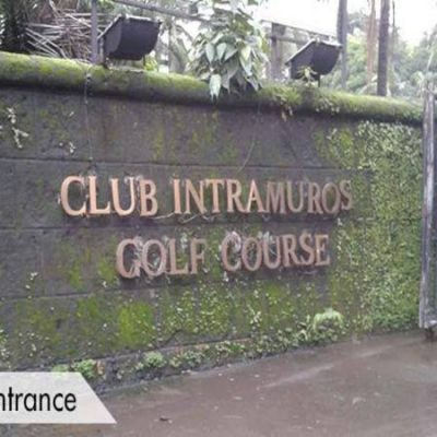 Club Intramuros Golf Entrance