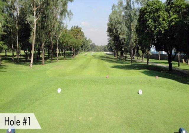 Villamor Golf Hole 1