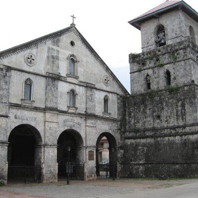 Baclayon Church Tagbilaran Bohol Philippines