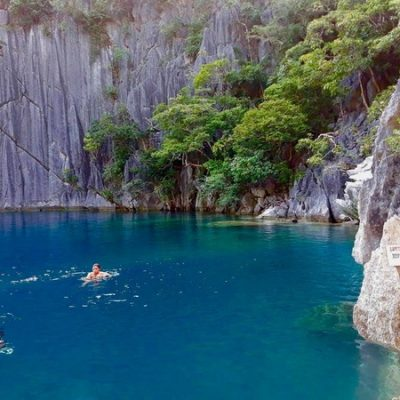 Baraccuda Lake Coron Palawan Philippines